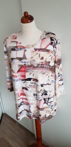 AZ Modell Camicia fantasia crema