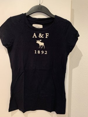 Abercrombie & Fitch Sweat Shirt dark blue