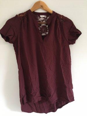 Tshirt Bluse Bordeaux NEU