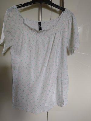 Tshirt Bluse mit dezentem Muster