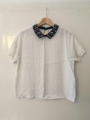 Tshirt Bluse mit tollem Kragen