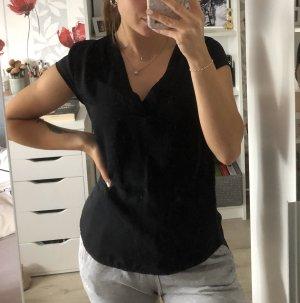 Tshirt- Bluse mit V- Ausschnitt