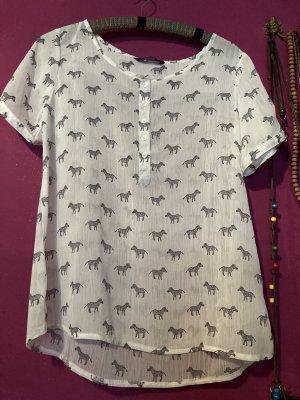 Tshirt Bluse Zebra 38/40