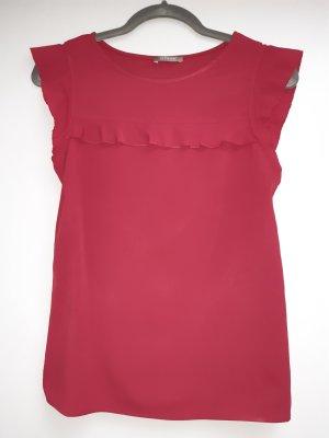 Tshirt bordeauxrot, Größe XS, Orsay