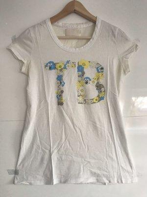 Burberry T-Shirt white-yellow