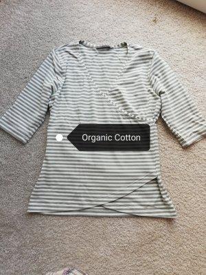 Consequent V-Neck Shirt white-light grey