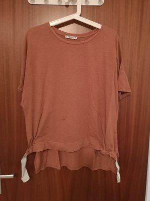Pull & Bear T-shirt bronze-or rose