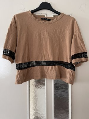 A Line Top bronze-colored-light brown