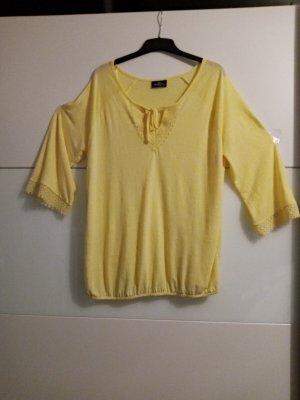 Gina Benotti Camicetta body giallo pallido