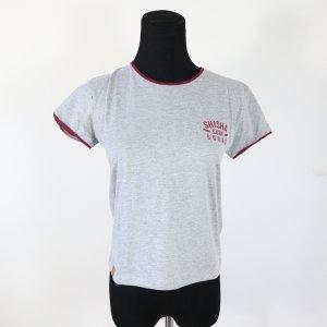 Tshirt grau basic fairfashion Shisha Clothing