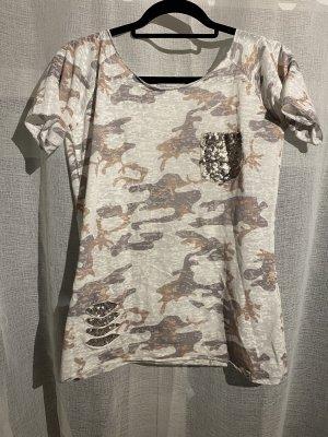 "Tshirt im ""Army Style"" von ""KEY LARGO"""