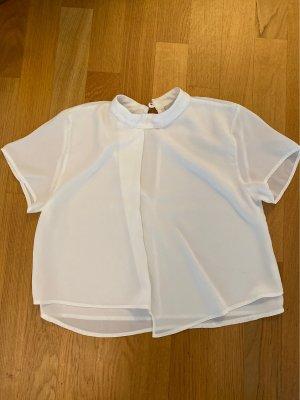 Tshirt im Seide  Look