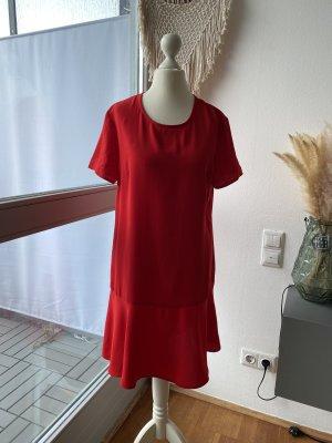 Sukienka dresowa czerwony