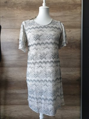 Butik Shortsleeve Dress light grey-grey