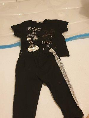 Twin Set tejido negro-color plata