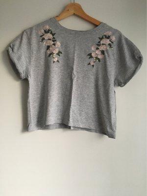 Tshirt mit Blume Print