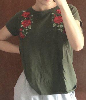 tshirt mit Blumen