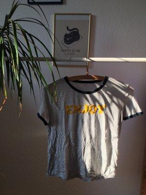 Tshirt mit Enjoy Print