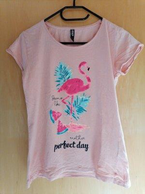 Tshirt mit Flamingoaufdruck