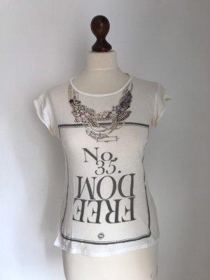 Tshirt mit Frontprint Zara Made in Portugal! (S)