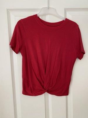 Tshirt mit Knotendetail von Hollister
