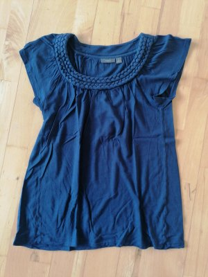 APT.9 Shirt basique bleu violet-bleu