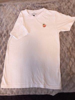 Tshirt mit Pfirsich Muster