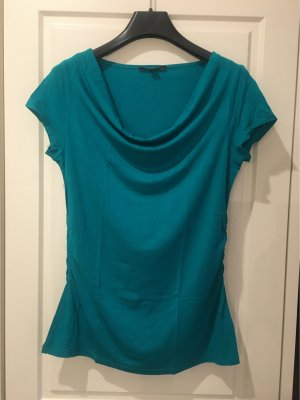 Comma Waterval shirt cadet blauw