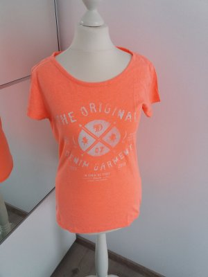 Tshirt orange Pfirsich 36 38 S M Shirt Tom Tailor