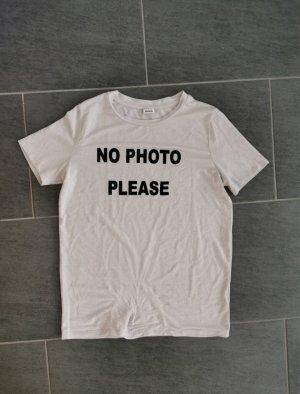 Pimkie T-shirt bianco sporco-rosa chiaro