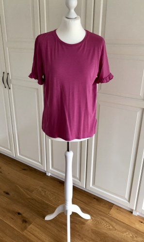 Tshirt Pink NA-KD S Rüschen