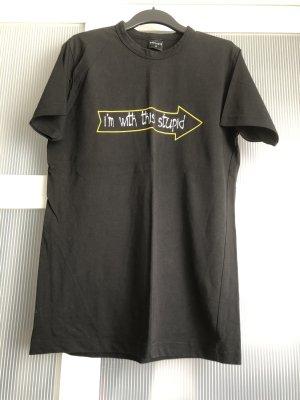 Tshirt S schwarz weiss gelb