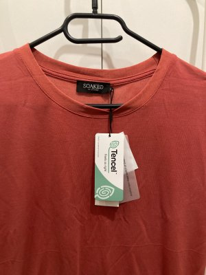 Soaked in luxury T-shirt rosso chiaro