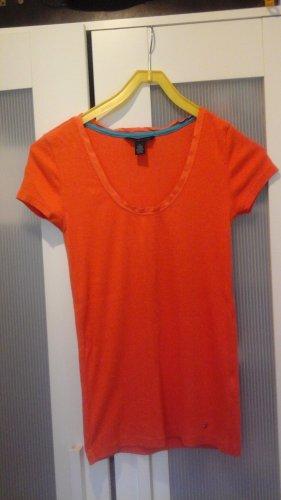 Tommy Hilfiger Camiseta Básico naranja Algodón