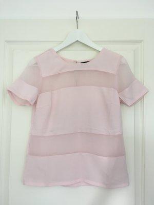 Tshirt von VILA zart-rosé