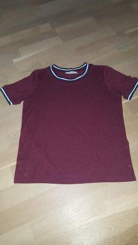 Tshirt Weinrot