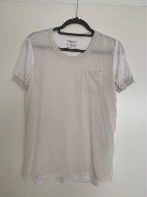 Woolrich T-shirt biały-w kolorze białej wełny