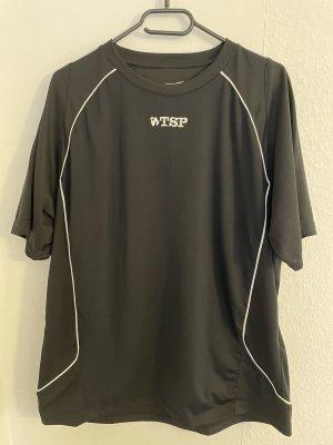 T-shirt de sport noir-blanc