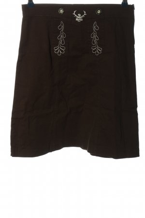 tu felix austria Traditional Skirt brown classic style