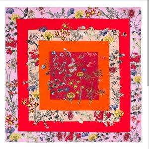 Ilse jacobsen Bufanda de seda multicolor