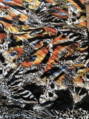 Desigual Châle au tricot multicolore polyester