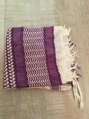 New Yorker Neckerchief white-blue violet mixture fibre
