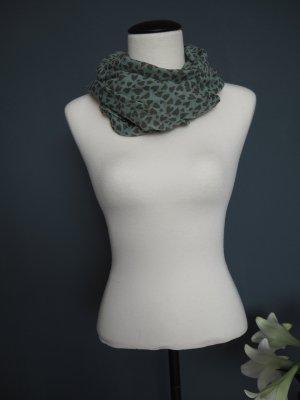 s.Oliver Foulard marrone-grigio-verde-grigio Viscosa