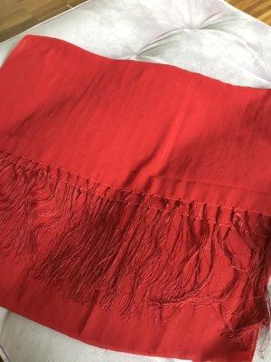 Hijab rojo ladrillo