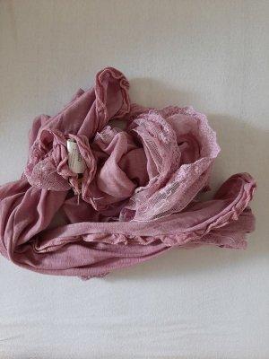 Pañoleta rosa empolvado