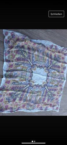 Codello Shoulder Scarf multicolored linen