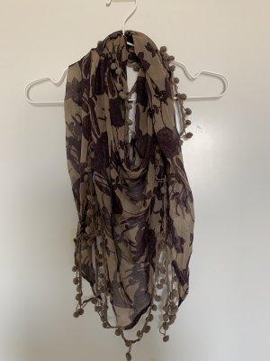 Vero Moda Halsdoek beige-grijs-lila
