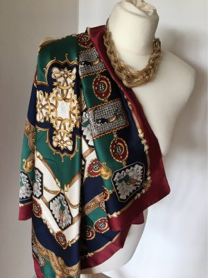 Shoulder Scarf multicolored polyester