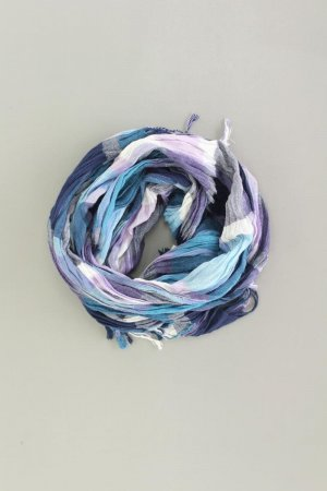 Chal veraniego azul-azul neón-azul oscuro-azul celeste
