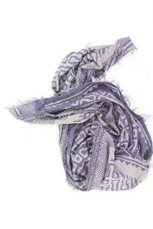 Écharpe d'été bleu-bleu fluo-bleu foncé-bleu azur